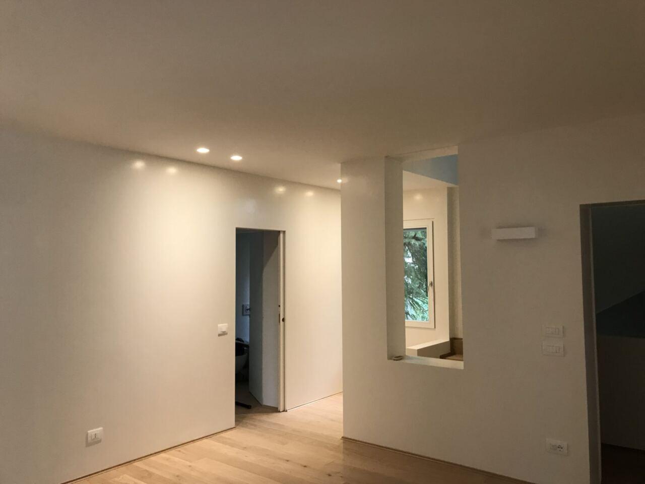 Spot a soffitto incassati su cartongesso