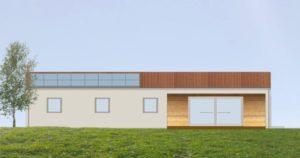 Casa lineare compatta
