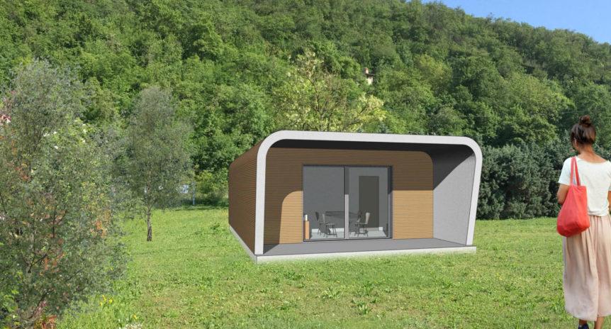 Concept design casa ad un piano